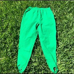 Vintage Carole Little Sport stirrup pants